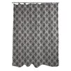 One Bella Casa Hisa 2 Geometric Shower Curtain
