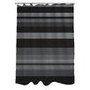 One Bella Casa Caroline Stripes Shower Curtain