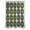 One Bella Casa Payton Ikat Dots Shower Curtain