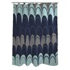 One Bella Casa Mila Mountains Shower Curtain