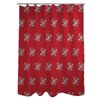 One Bella Casa Starry Eyed Snowflakes Shower Curtain