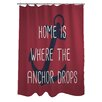 One Bella Casa Anchor Drops Shower Curtain