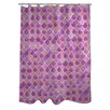 One Bella Casa Love from NYC 13 Scale Shower Curtain