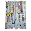 One Bella Casa Love from NYC 19 Shower Curtain