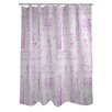 One Bella Casa Love from NYC 20 Shower Curtain