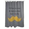 One Bella Casa Must Dash Shower Curtain
