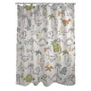 One Bella Casa Baby Dinos Shower Curtain