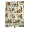 One Bella Casa Woodland Vignettes Shower Curtain