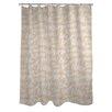 One Bella Casa Bonjour, Au Revoir Shower Curtain
