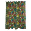 One Bella Casa Prickly Shower Curtain