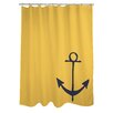 One Bella Casa Vintage Anchor Shower Curtain