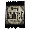 One Bella Casa Haunted Come In Key Shower Curtain