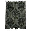 One Bella Casa Haunted Filigree Shower Curtain