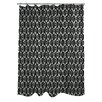 One Bella Casa Kelly Ikat Shower Curtain