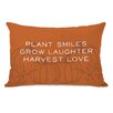 One Bella Casa Harvest Love Lumbar Pillow
