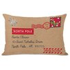 One Bella Casa North Pole Special Delivery Lumbar Pillow