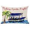 One Bella Casa Making Spirits Bright Lumbar Pillow