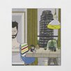 One Bella Casa View From The Window by Michael Sanderson Graphic Art on Wrapped Canvas