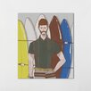 One Bella Casa Many Surfboards by Michael Sanderson Graphic Art on Wrapped Canvas
