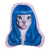 One Bella Casa Pets Rock Gurl Shaped Lumbar Pillow