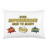 One Bella Casa Superheroes Need Sleep Pillow Case