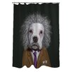 One Bella Casa Pets Rock Brain Shower Curtain