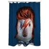 One Bella Casa Pets Rock Glam Rock Shower Curtain