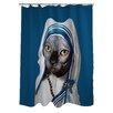 One Bella Casa Pets Rock Calcutta Shower Curtain