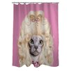 One Bella Casa Pets Rock Country Shower Curtain