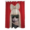 One Bella Casa Pets Rock GG Shower Curtain