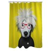 One Bella Casa Pets Rock Soup Shower Curtain