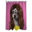 One Bella Casa Pets Rock Wag Shower Curtain