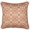Loni M Designs Geometric Cotton Throw Pillow