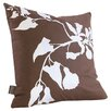 Inhabit Morning Glory Organic Throw Pillow