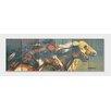 Gizaun Art Signature 1 Night Raid Cedar Painting Print on Cedar