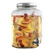 Wine Enthusiast Mason Jar Beverage Dispenser