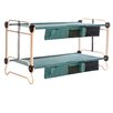 Disco Bed Cam-O-Bunk Bed with 2 Organizer and 2 Leg Extension