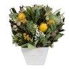 Urban Florals Lemon Wreath