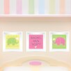 Mona Melisa Designs 3 Piece Elephant Picture Frame Wall Decal
