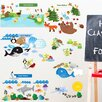 Mona Melisa Designs Educational Peel and Learn Eco System Wall Decal