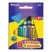 Bazic 8 Color Premium Quality Triangle Crayon