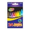 Bazic 24 Color Premium Quality Crayon Set
