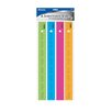 "Bazic 12"" Ruler with Multiplication Prints (Set of 4)"