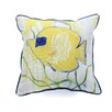 Betsy Drake Interiors Coastal Tang Indoor/Outdoor Throw Pillow
