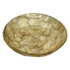 Dekorasyon Gifts & Decor Gold Flake Round Soap Dish
