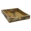 Dekorasyon Gifts & Decor Wooden Cutlery Tray