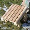 Rustic Natural Cedar Furniture Cedar Log Ottoman