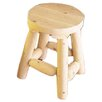 "Rustic Natural Cedar Furniture 18"" Cedar Bar Stool (Set of 2)"