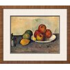 Art.com 'Still Life with Apples, C.1890' by Paul Cézanne Framed Graphic Art