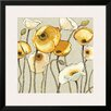 Art.com 'Jaune Gris II' by Shirley Novak Framed Graphic Art